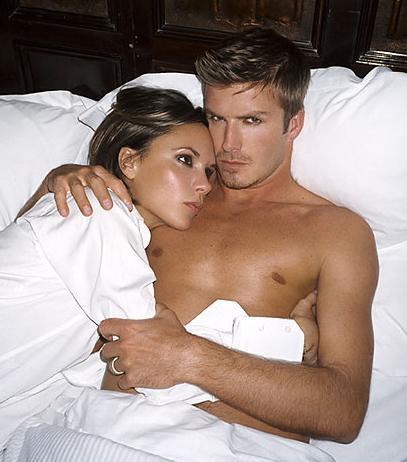 Beckham çifti.
