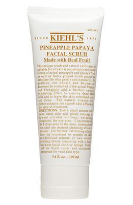 En iyi peeling  Ölü hücreleri kırarak ciltten arındırmaya yardımcı ananas  ve papaya özlerini içeren peeling, cildi yumuşatıp dokusunu düzeltiyor.  KIEHL' S, Pineapple Papaya Facial Scrub  Fiyat : 65 TL