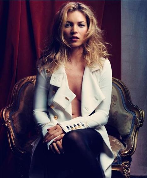 Kate Moss'un en güzel pozları - 27