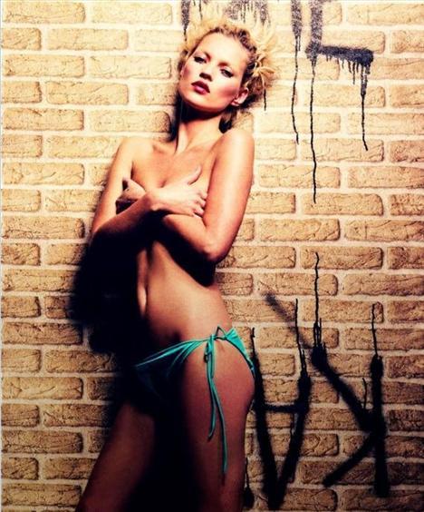 Kate Moss'un en güzel pozları - 36
