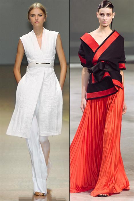 Céline ve Haider Ackermann, 2011 yaz sezonunda klasik Japon renkleri ve kesimlerini modern kumaşlarla birlikte yeniden yaratmışlar. Bir diğer değişle, Uzakdoğu kültürünü başarılı bir şekilde günümüze uyarlamışlar.