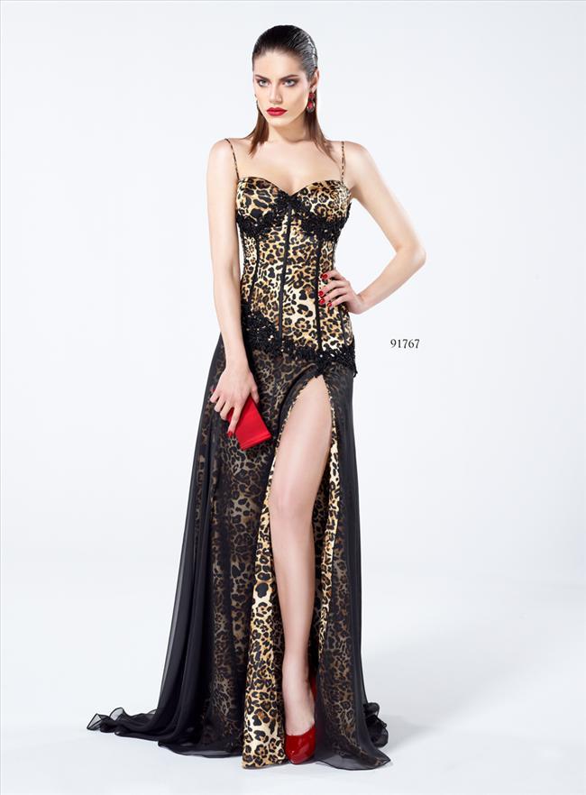 Ünlü tasarımcı ayrıca bu yılın trend modellerinin balık, toplamalı ve leopar desenli elbiseler olduğunu belirtiyor.