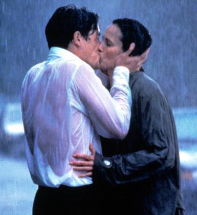 Hugh Grant ve Andie MacDowell (Four Weddings And A Funeral)