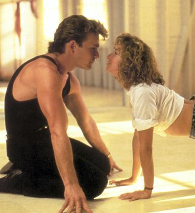 Jennifer Grey ve Patrick Swayze (Dirty Dancing)