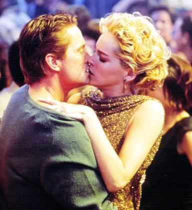 Michael Douglas ve Sharon Stone (Temel İçgüdü)