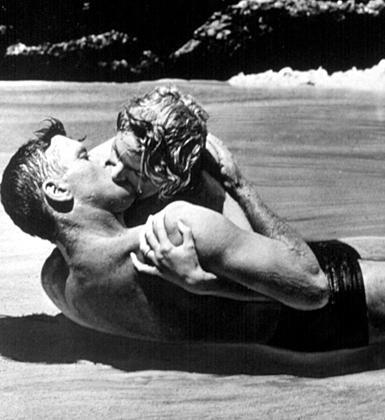 Deborah Kerr ve Burt Lancaster (İnsanlar Yaşadıkça)