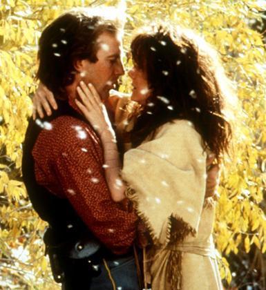 Kevin Costner ve Mary McDonnell (Kurtlarla Dans)