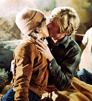 Robert Redford ve Jane Fonda (The Electric Horseman in 1979)