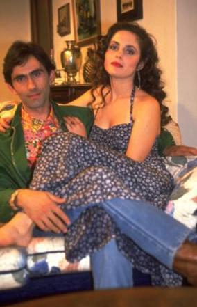 Peker Açıkalın ve Nilüfer Açıkalın 90'lı yıllarda evliydi.