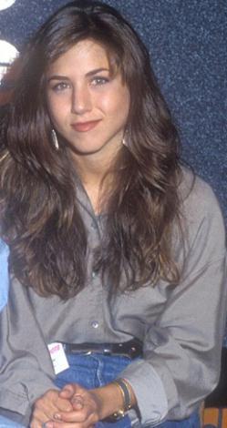 Jennifer Aniston, 20'li yaşlarında.