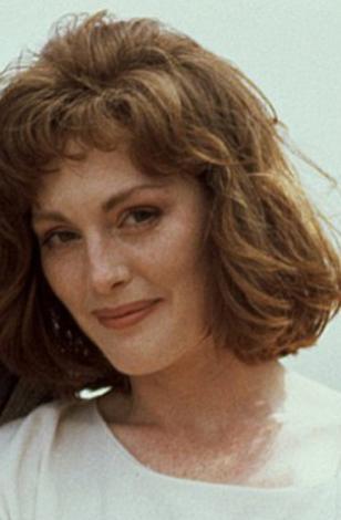 Julianne Moore, 20'li yaşlarının sonunda.