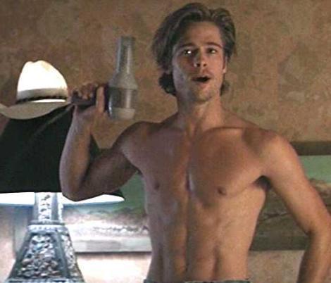 Brad Pitt, 1991 yapımı Thelma ve Louise filminde.