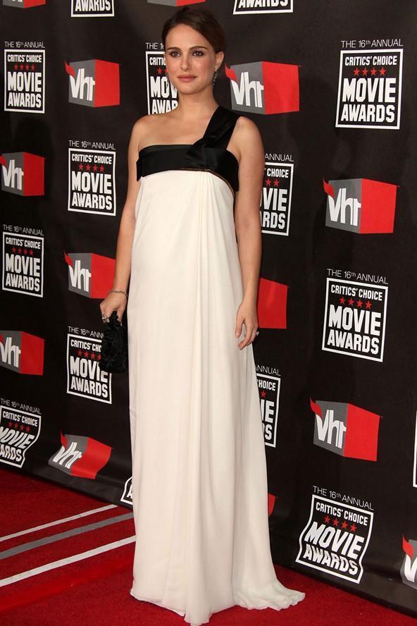 Natalie Portman hamileliği sırasında bir çok galaya katıldı.