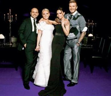 Victoria Beckham'ın kızkardeşi Louise... Beckham kardeşine pahalı bir düğün hediyesi vermişti.