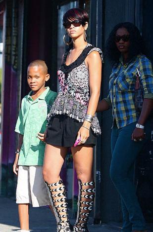 Rihanna ve erkek kardeşi