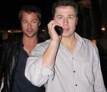 Brad Pitt'in kardeşi Doug Pitt.