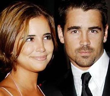 Colin Farrell ve kızkardeşi Catherine .