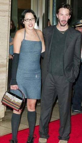 Keanu Reeves ve kardeşi Karina'ya