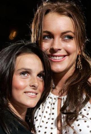 Lindsay Lohan ve kardeşi Ali.