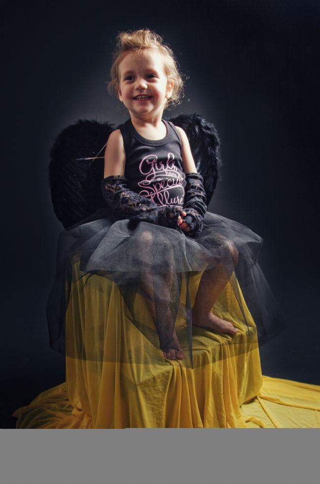 Tuana melek olmaktan çok mutluydu...