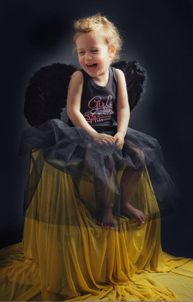 Tuana Akdağ Early Me çekim gününde çok tatlı bir melek oldu.