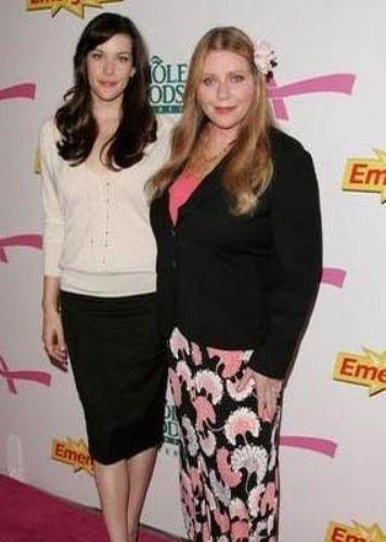 Liv Tyler ve Bebe Buell..