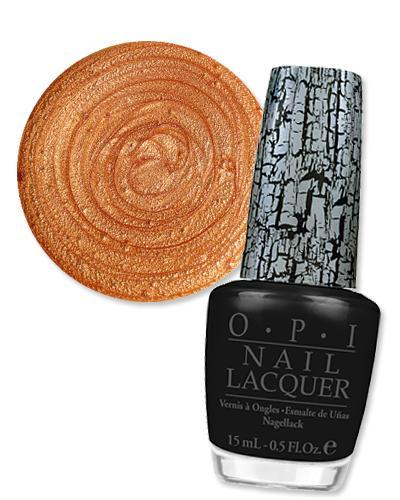 Leopor manikür nasıl yapılır?  1. Altın ve metalik kahve ojeyi iki kat sürün. Dior Vernis in City of Gold'u önerebiliriz. 5 dakika kadar kurumasını bekleyin.  2. Siyah oje (OPI, Black Shatter olabilir) ile de leopar desenini tamamlayın.