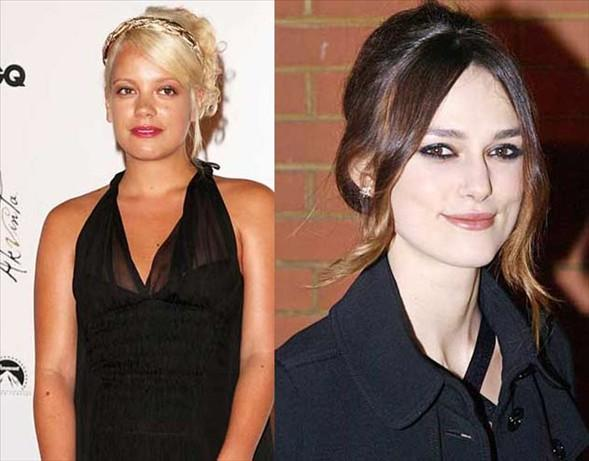 23 yaşında Lily Allen ve Natalie Portman'dan hangisi daha büyük görünüyor?