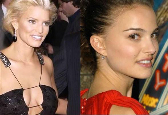 Natalie Portman ve Jessica Simpson, 1980 yılında doğdular.