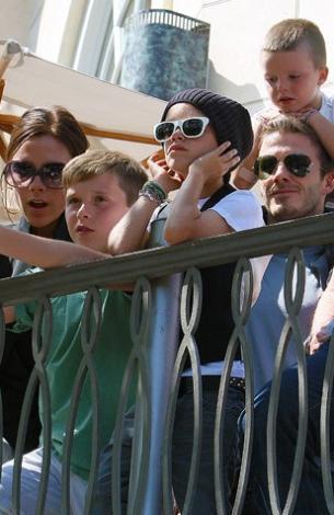 Magazin basınının en çok sevdiği ailelerden biri de Beckham ailesi.