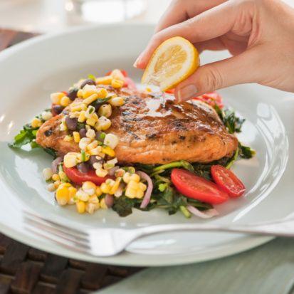 Balık   Frenk soğanı, kekik, tarhun.