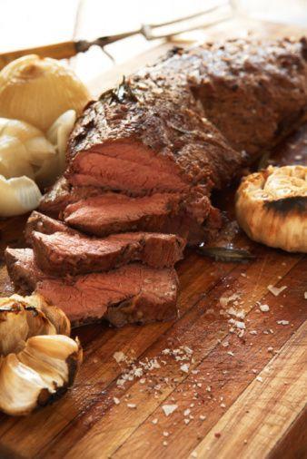 Koyun Eti   Sarımsak, nane, kekik, biberiye