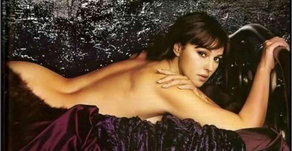 Monica Bellucci'den seksi pozlar.. - 19