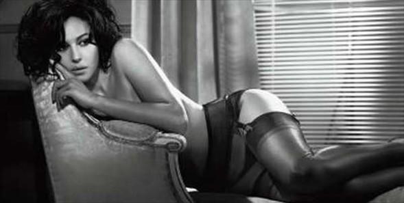 Monica Bellucci'den seksi pozlar.. - 27