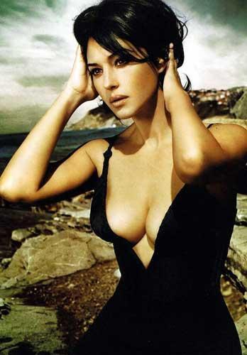 Monica Bellucci'den seksi pozlar.. - 31
