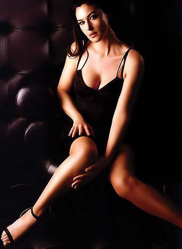 Monica Bellucci'den seksi pozlar.. - 38