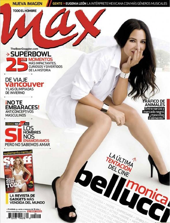 Monica Bellucci'den seksi pozlar.. - 42