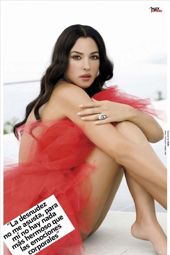Monica Bellucci'den seksi pozlar.. - 44