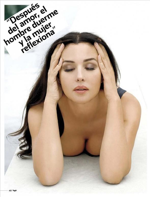 Monica Bellucci'den seksi pozlar.. - 48