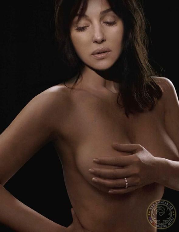 Monica Bellucci'den seksi pozlar.. - 4