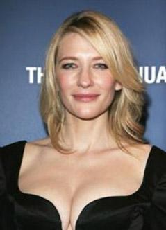 Bir Cate Blanchett'e bakın...
