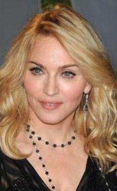 Madonna'ya benziyor...