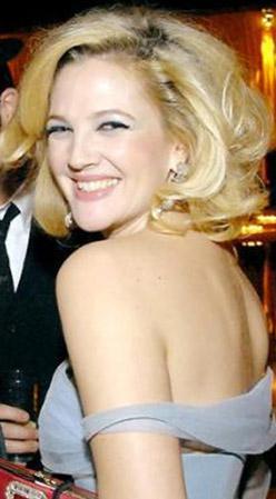 Drew Barrymore'un gülüşü...