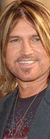 Müzisyen Billy Ray Cyrus birbirlerinin kopyası gibi..