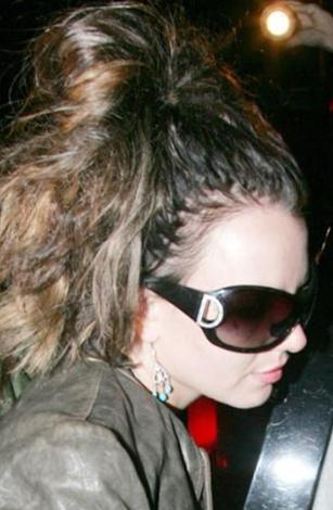 Britney Spears da epey dağınık bir ünlü.