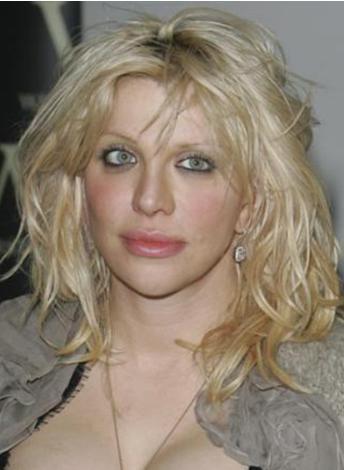 Courtney Love bakımsızlığıyla ünlü..