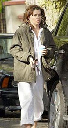 Jude Law'ın eski eşi Sadie Frost kimi zaman kendine hiç bakmıyor.