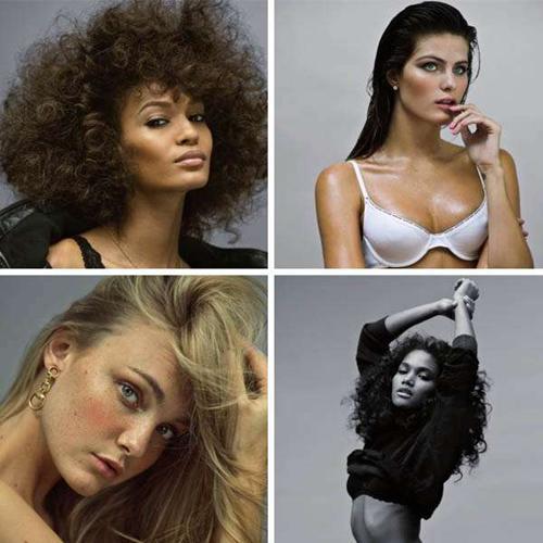 V dergisi, yaz özel sayısında podyumların en çekici yıldızlarını belirledi. İlk üçte Brezilyalı modeller yer aldı.
