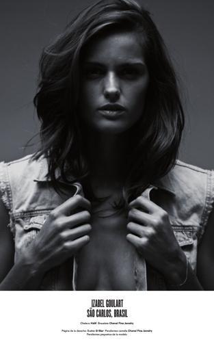 Victoria's Secret meleği Izabel Goulard, listede üçüncü oldu.