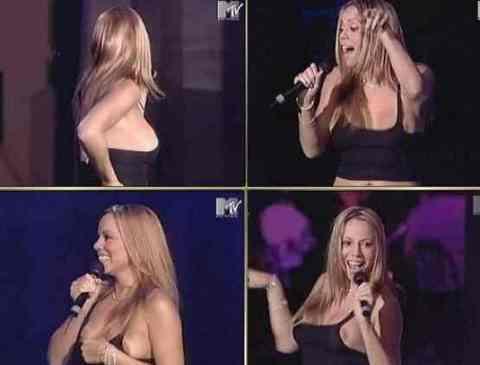 Mariah Carey ve canlı yayın kazası